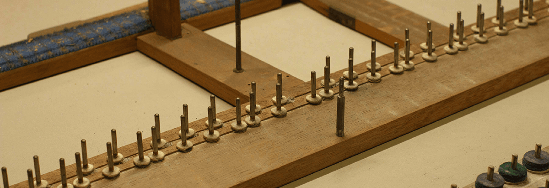 Restauration du piano Pleyel de Peter Benoit
